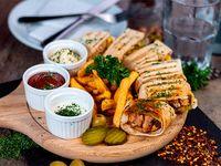 Combo - Shawarma árabe de pollo