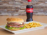 Hamburguesa Super Especial en Combo