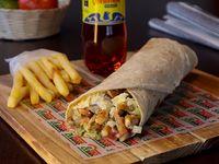 Combo Burrito Mexicano Pollo