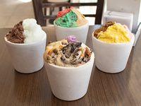Promo 3 - 4 potes de 1/4 Kg de helado