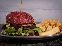 Burger vermelha (vegan)