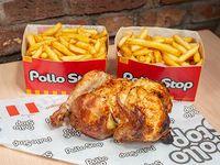 Promo 3 - Pollo entero + papas fritas dobles (2 porciones) + bebida Pepsi 1.5 L