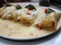 Canelones a Gamberetti