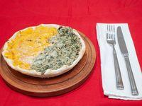 Tarta combinada de verduras y calabaza
