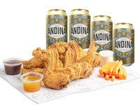 Wings x20 con Andina