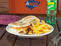 Combo lanzamiento - sándwich chacarero + papas fritas + bebida (disfrutan 1-2)