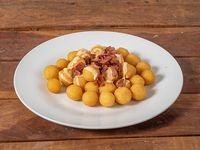 Papas Noisette con Cheddar y Bacon
