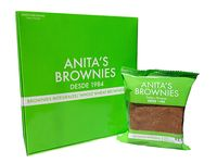 Caja x4 Brownies 75 gr Integrales