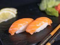 Sashimis de salmón (5 piezas)