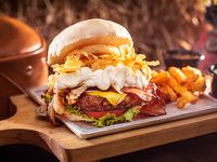 Hamburguesa Americana Bacon