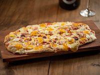 Pizzeta con bacon