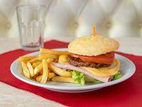 Hamburguesa Completa sin gluten