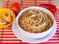 Spaguettis Mixtos