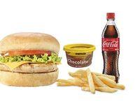Menú Hamburguesa  + Gaseosa