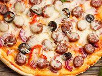 Pizza Clock Molte-Carni Personal