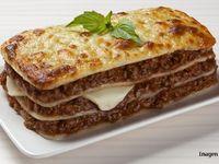 Lasagna Pollo y Champiñones
