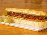 Sándwich Carne Desmechado