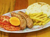Plato de Chorizos