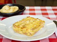 Lasagna Jamón y Espárragos