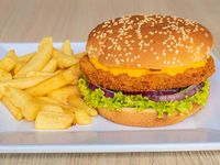 Combo Hamburguesa Clásica Pollo