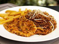 Arroz + Filete de Pechuga + Papas a la Francesa