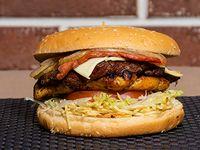Hamburguesa Parrillera Mixta Dos Carnes