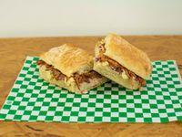 Sándwich Cerdo Barbacoa