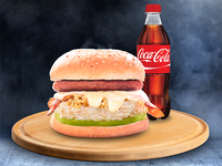 Hamburguesa Especial + Refresco 400 ml