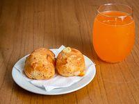 Promo - Pan de queso (2 unidades) + gaseosa 500 ml