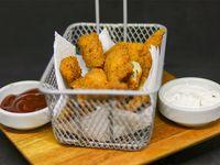 Chicken tender con salsa honey mustard (12 unidades)