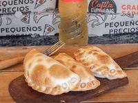 Promo - 3 empanadas + agua saborizada 500 ml