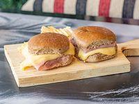 Tostado en pan integral (3 unidades)