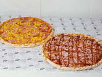Promoción - 2 Pizzas con tres ingredientes (38 cm)