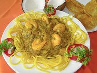 Espagueti con Camarón