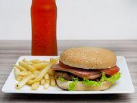 Hamburguesa Sencilla de Carne