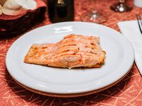 Filet de salmón rojo
