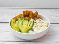 Sushi bowl de langostino furay