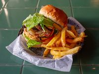 Hamburguesa chivilocoy (veggie)
