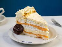 Torta mediterránea (porción)
