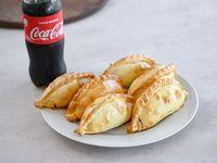 Promo - 6 empanadas +  Coca-Cola 600 ml
