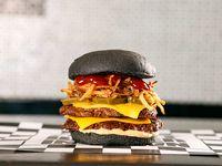 Promoción - Double Black burger
