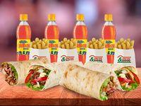 Combo Burrito Para 4