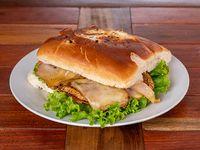 Sandwiches de pechuga de pollo