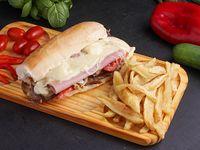 Sándwich de churrasquito costumbres