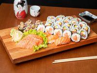 Combo Sr Miyagi - salmón fresco (36 piezas)