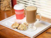 Promo desayuno - Café, té o café con leche + 6 cookies