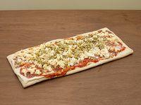 Pizza muzarella congelada rectangular