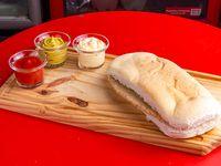 01- Sándwich de milanesa simple