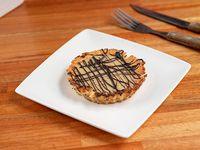 Tartaleta de coco y chocolate blanco #glutenfree