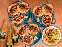 2 Combos Tacos + Coronitas
